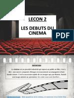Lecon 2 - Debuts Du Cinema H3 (Frères Lumières, Melies)