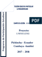 Proyecto Para Participacion Estudiantil Modelo
