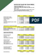 Flujo de Caja Presupuestado