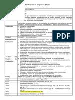 Planificación de Asignatura 2ºC MATEMATICA ASENCIO