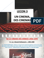 Lecon 3 - Des Cinemas H9 (Le Nouvel Hollywood)