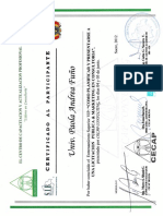 certificados CECAP