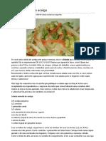 Salada Oriental de Acelga