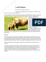 Microorganisms and Manure - A Biosa Testimonial Article