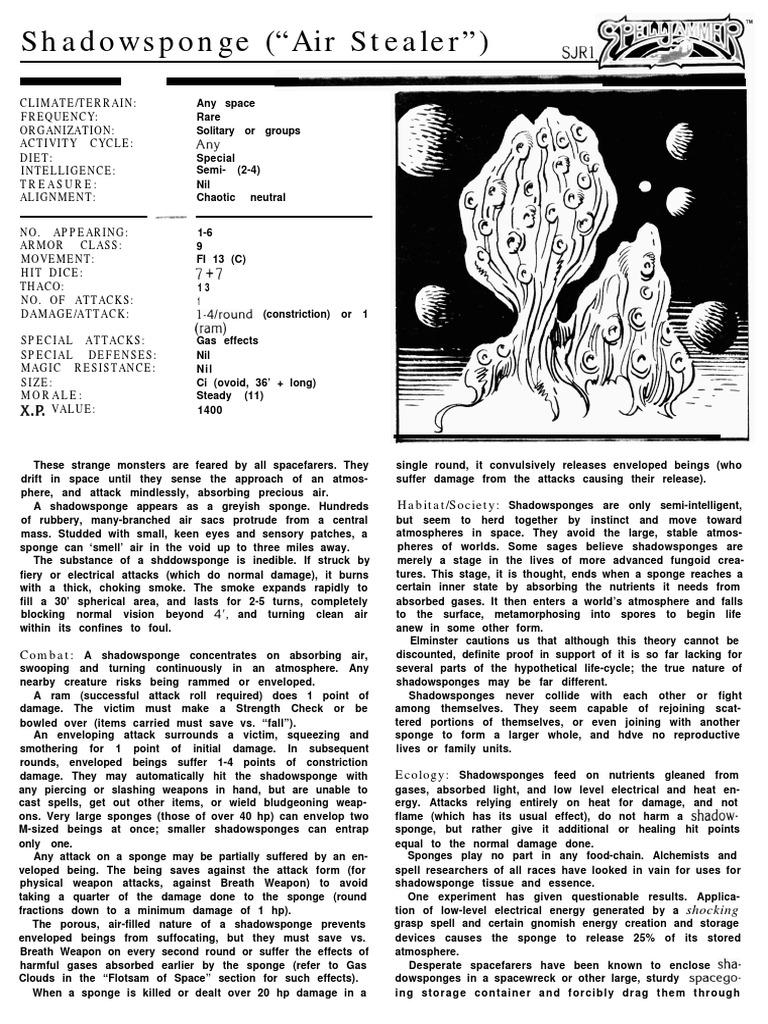 D&D - Spelljammer - Monstrous Compendium IV pdf   Birds   Nature