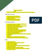 ABAP contents1