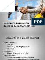 Contract Formation w4