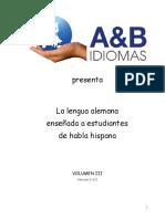 Deusch Für Studenten Buch III Al Dia 30.07.2015