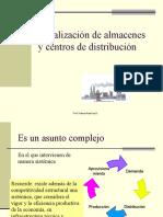 Localizacion de Almacenes y Centros de Distribucion