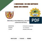 Escuela Profesional de Ingeniería Agroindustrial