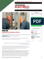 Constructor Eléctrico - Mantenimiento en Instalaciones Eléctricas
