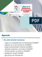 Que Es La Plataforma de OvidSP
