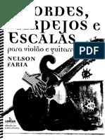 Nelson Farias Acordes Arpejos e Escalas