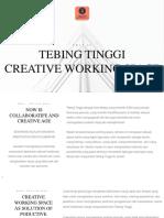 Tebing Tinggi Creative Working Space