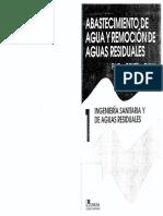 Abastecimiento de Agua y Remocion de Aguas Residuales - Fair, Geyer,.pdf
