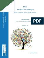 Analyse Numérique
