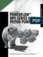 Hpv Hydraulic Pump Iom