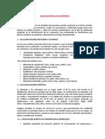 Tema 7 2da Parte Clasificación de Los Yaciminetos