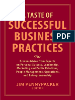 A Taste of Successful Business Practices