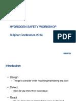 Hydrogen Safety Workshop