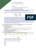 Prova - Resolucao - LFA, linguagem formais e automatos