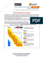 Aviso Meteorológico DZ11 - No 118-2017