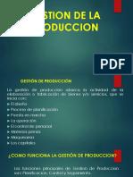 2. Gestion de La Produccion