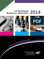 PEGE Annual Report 2014
