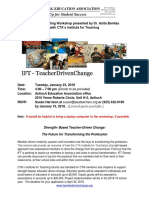 IFT Grant Writing Flyer