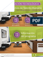 Descargable Informacion Del Programa SENA GTH
