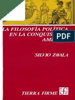 Filosofía Política de La Conquista - Silvio Zavala (V3)