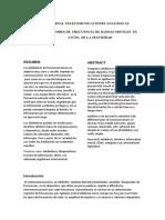 Jurnal de Telecomunicaciones Analogicas
