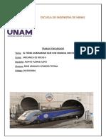 El Túnel Submarino Que Une Francia Con El Reino Unido