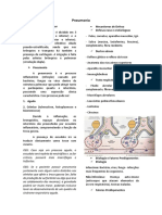 Pneumonia - Fisiopato