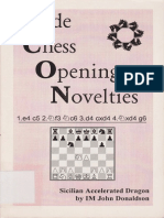 Inside Chess Opening Novelties Dragon