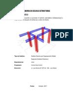 Memoria de Calculo Estructuras Subestacion