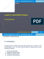 Lesson 3 Lateral Earth Pressure 1