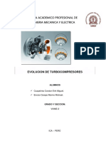 Evolucion de Turbocompresores