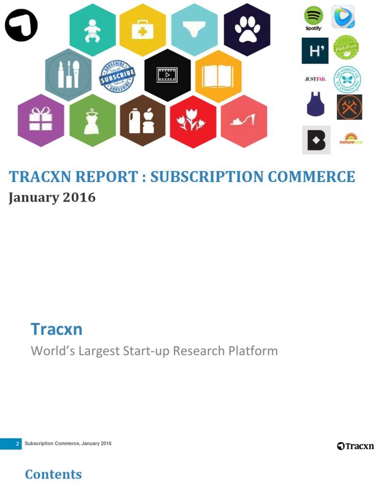 473e9a51 Tracxn Jan 2016 | Subscription Business Model | Software As A Service