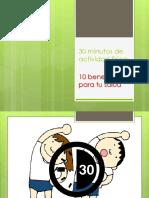 30 Minutos de Actividad Física