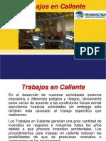 Trabajos en Caliente Transaltisa 2017