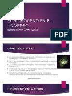 El Hidrogeno en El Universo