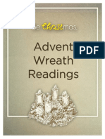 Advent Wreath Readings Handout