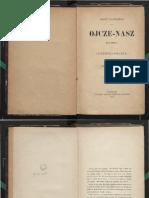 August CIESZKOWSKI, Ojcze-nasz, Vol. III - Pierwsza Proźba. Święć Się Imię Twoje
