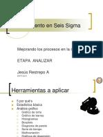 Six Sigma Etapa ANALIZAR