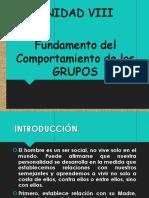 UNIDAD 8 - Comp de Los Grupos