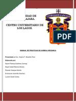 Manual Laboratorio Quimica Organica