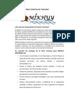 FERIA TURISTICA EN mistura.docx
