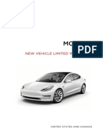Model 3 New Vehicle Limited Warranty NA En