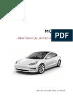 Model 3 New Vehicle Limited Warranty NA En